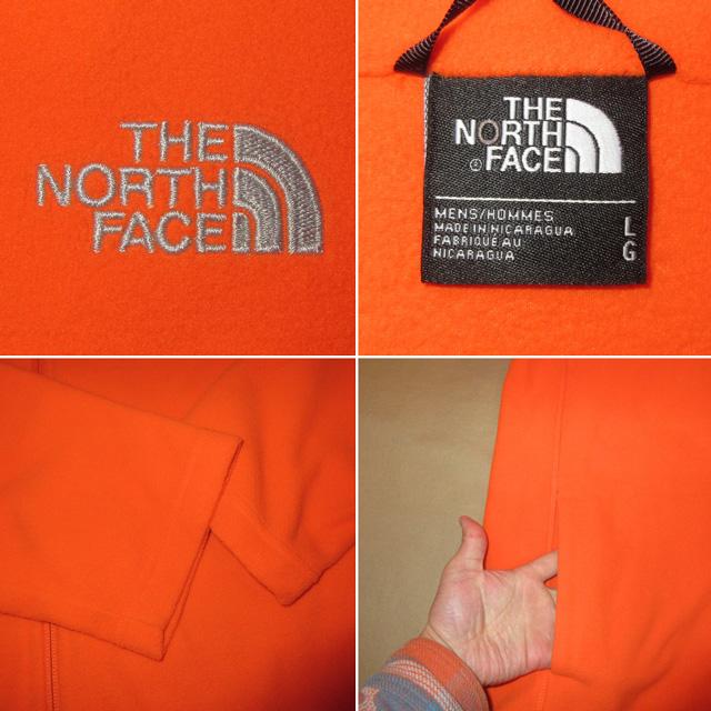 画像4: 新品 THE NORTH FACE ノースフェイス フルジップ フリース ジャケット アウトドア ORG 00's /170209