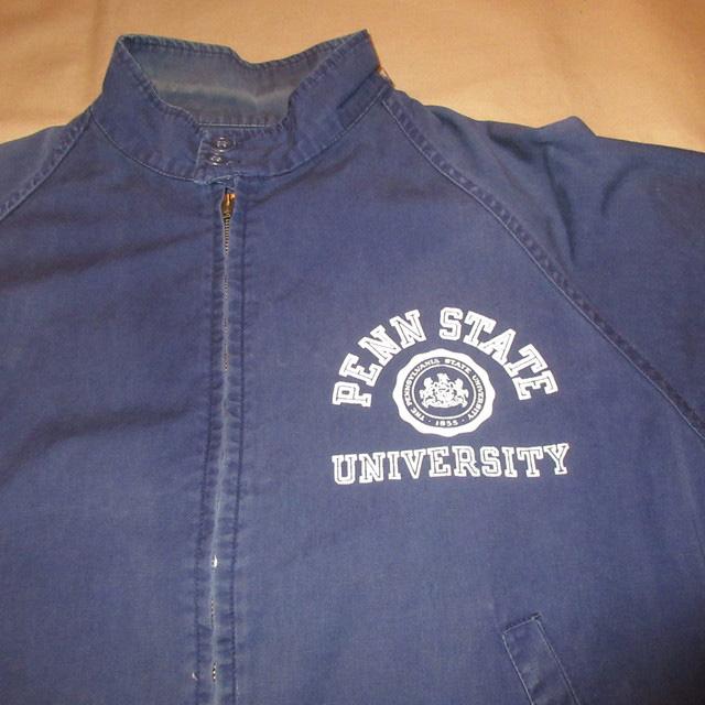 画像3: 古着 PENN STATE UNIVERSITY ペンシルバニア大学 カレッジ スイングトップ ジャケット CONMAR NVY 60's / 170225
