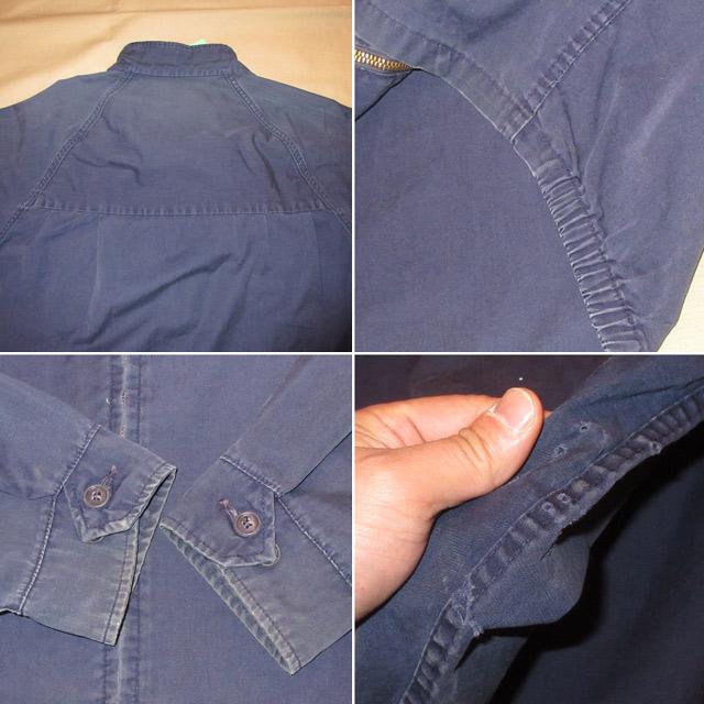 画像5: 古着 PENN STATE UNIVERSITY ペンシルバニア大学 カレッジ スイングトップ ジャケット CONMAR NVY 60's / 170225