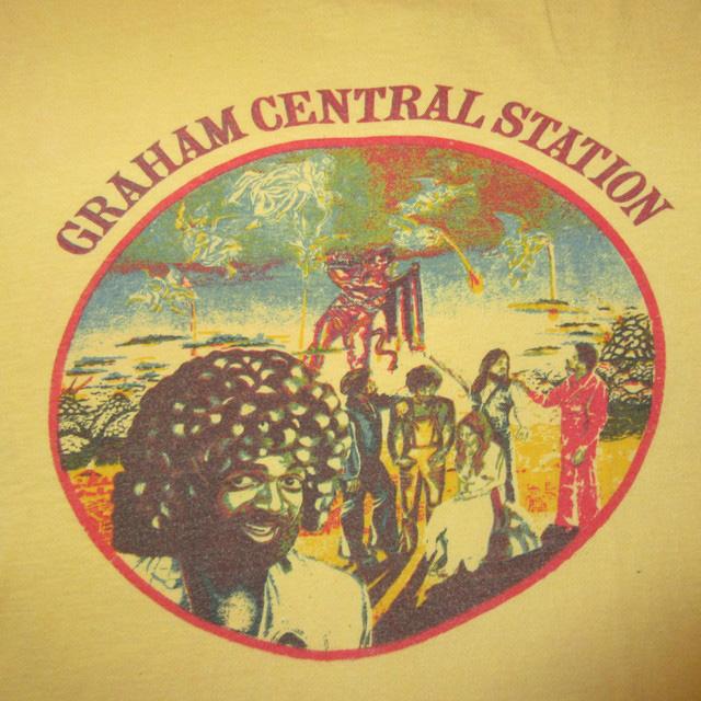 画像3: 古着 GRAHAM CENTRAL STATION Ain't No 'bout-A-Doubt It グラハムセントラルステーション Tシャツ YEL 70's / 170319