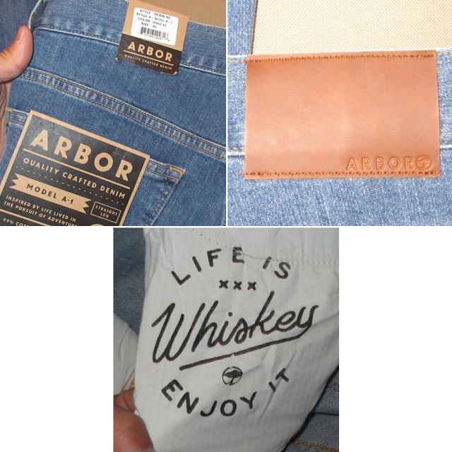 画像5: 新品 ARBOR アーバー スリムフィット スキニー ストレッチ デニム パンツ ジーンズ BLUE 00's /170403