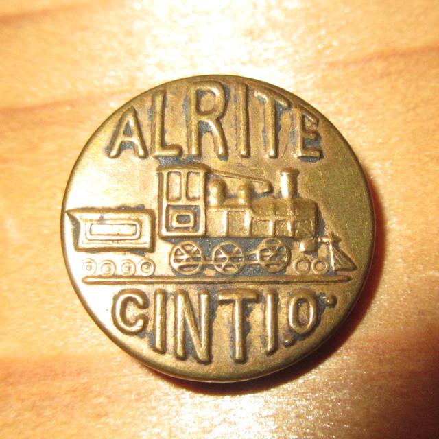 画像1: 古着 ALRITE CINTIO チェンジボタン ワークブランド ヴィンテージ アンティーク 40's / 170407