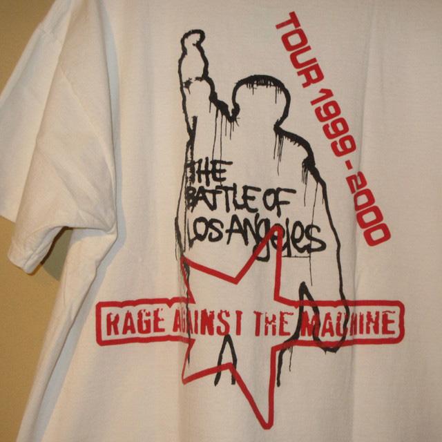 画像4: 【過去に販売した商品です/SOLD OUT】古着 RAGE AGAINST THE MACHINE Tシャツ 00's/170410