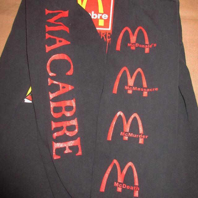 画像4: 【過去に販売した商品です/SOLD OUT】古着 MACABRE  Tシャツ 00's/170410