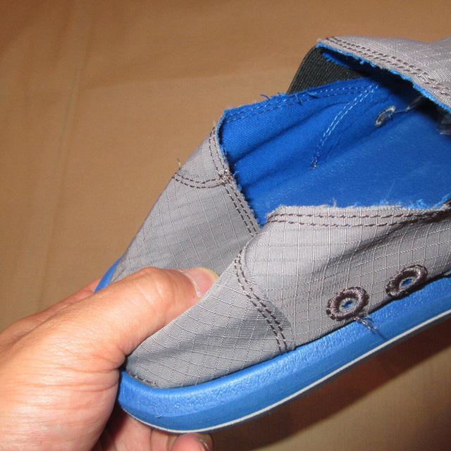 画像3: 新品 メンズ sanuk サヌーク VAGABOND NIGHTS シューズ スニーカー スリッポン GRY/BLUE 00's /170508