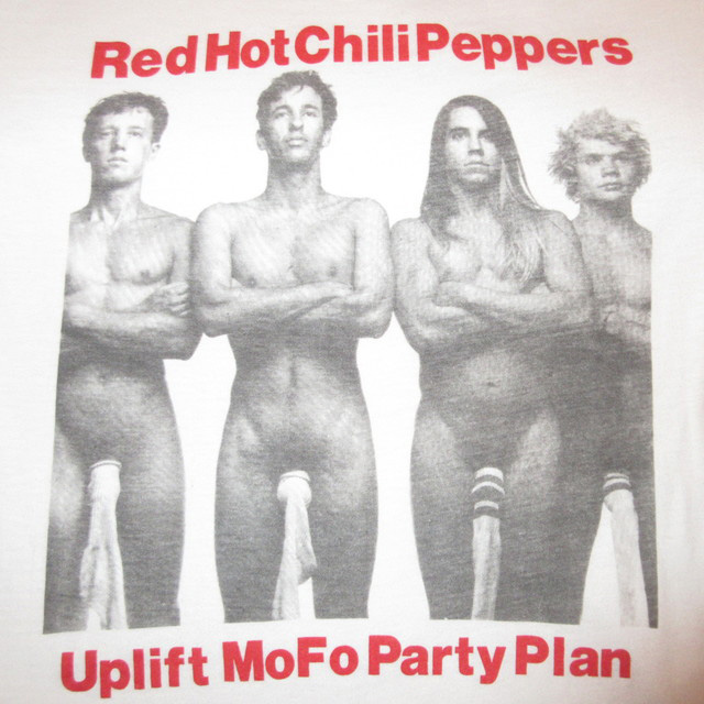 画像3: 【過去に販売した商品です/SOLD OUT】古着 RED HOT CHILI PEPPERS レッチリ THE UPLIFT MOFO PARTY PLAN EMI SOCKS ON COCKS Tシャツ 90's/170601
