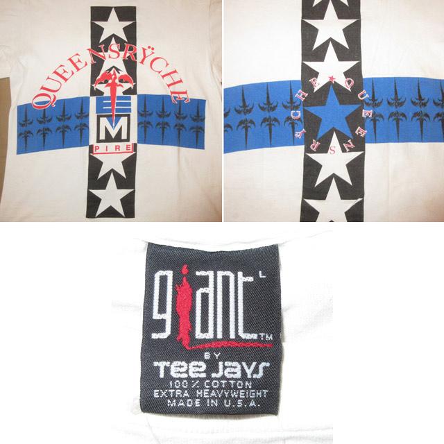 画像3: 【過去に販売した商品です/SOLD OUT】古着 QUEENSRYCHE クイーンズライク クイーンズライチ Tシャツ 90's/170601