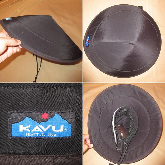 画像2: 新品 KAVU カブー chillba チルバ ハット HAT アウトドア BLK USA製 00's / 170615