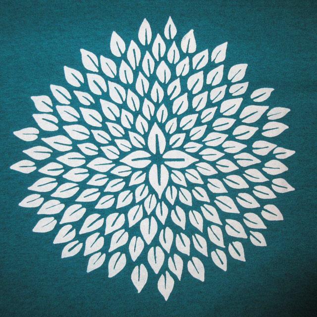 画像3: 新品 Kalen Blackburn カレンブラックバーン ハンドプリント Tシャツ TUQ 00's / 170713