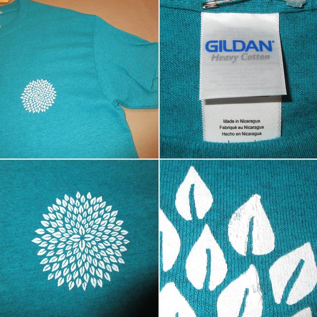 画像4: 新品 Kalen Blackburn カレンブラックバーン ハンドプリント Tシャツ TUQ 00's / 170713