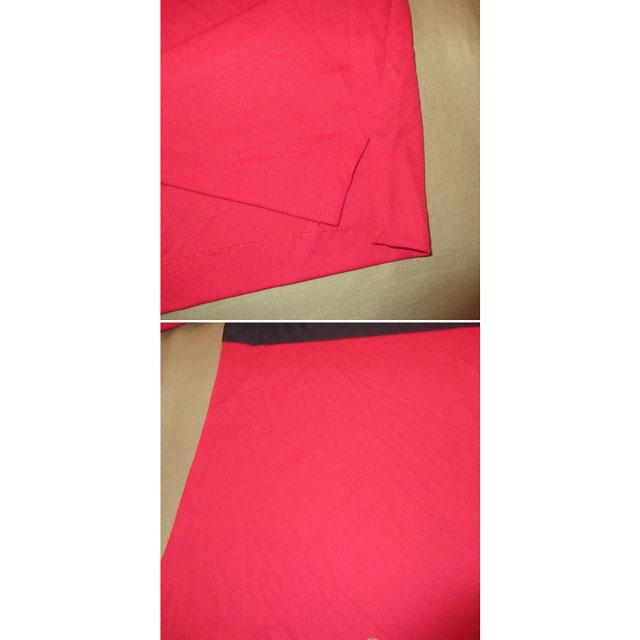 画像5: デッドストック 新品 KING LOUIE キングルイ プルオーバー ポロ ボーリングシャツ 半袖シャツ USA製 RED 70's / 170719