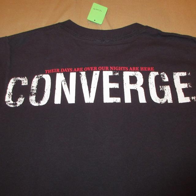 画像4: 古着 CONVERGE コンバージ No Heros Tシャツ メタリックハードコア 00's / 170802