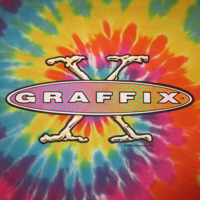 画像3: 古着 90's GRAFFIX グラフィックス ボング タイダイ Tシャツ made in USA / 170810