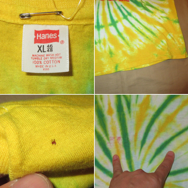 画像4: 古着 80's HOLE IN THE OCEAN タイダイ Tシャツ made in USA / 170810