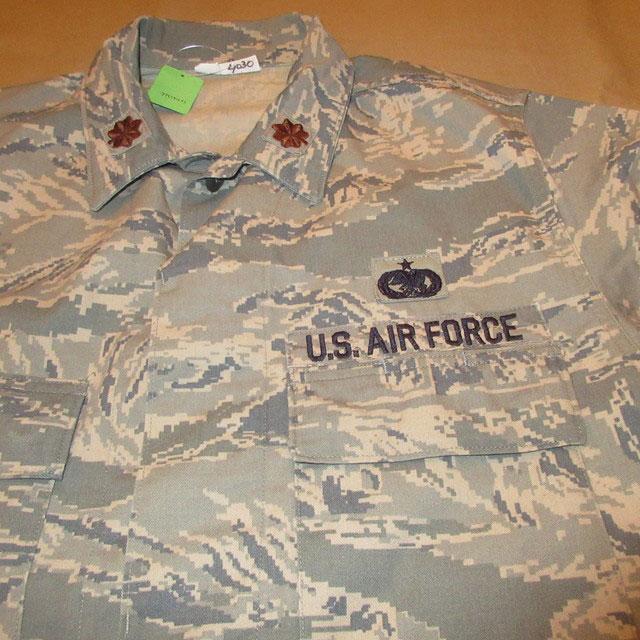 画像3: 古着 00's USAF アメリカ空軍 デジカモ ユーティリティージャケット ミリタリ- GRN /170910