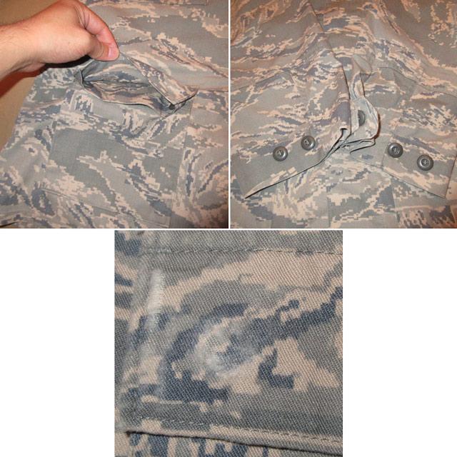 画像5: 古着 00's USAF アメリカ空軍 デジカモ ユーティリティージャケット ミリタリ- GRN /170910