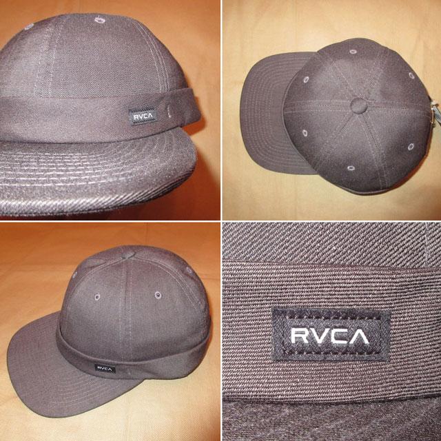 画像2: 新品 00's RVCA ルーカ 6PANEL CAP 帽子 ストリート CHA  / 170919