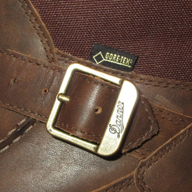 画像3: 新品 00's DANNER ダナー Sharptail REAR ZIP シャープテイル GORE-TEX レザーブーツ BRW SIZE9 / 171114