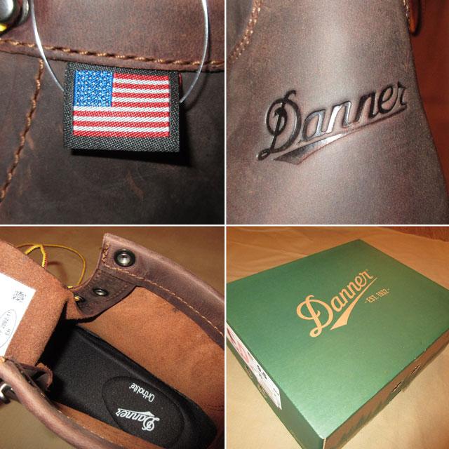 画像4: 新品 00's DANNER ダナー BULL RUN CRISTY レザーブーツ BRW made in USA  / 171114