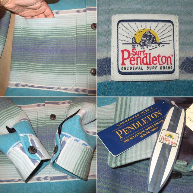 画像4: 新品 SURF PENDLETON サーフペンドルトン ウール ラグジャケット MIX / 171204