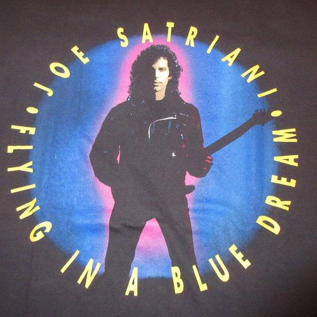 画像3: 古着 90's JOE SATRIANI ジョーサトリアーニ FLYING IN A BLUE DREAM Tシャツ BLK / 171205