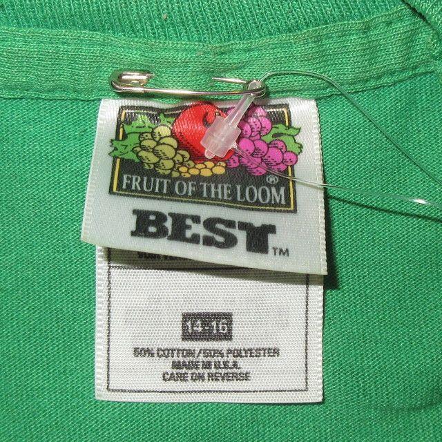 画像4: 古着 90's BECK ベック ODELAY BIRD Tシャツ GRN / 180118