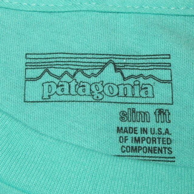 画像4: 新品 00's patagonia パタゴニア cardiff by the sea カーディフ 限定 Tシャツ climb GRN / 180509