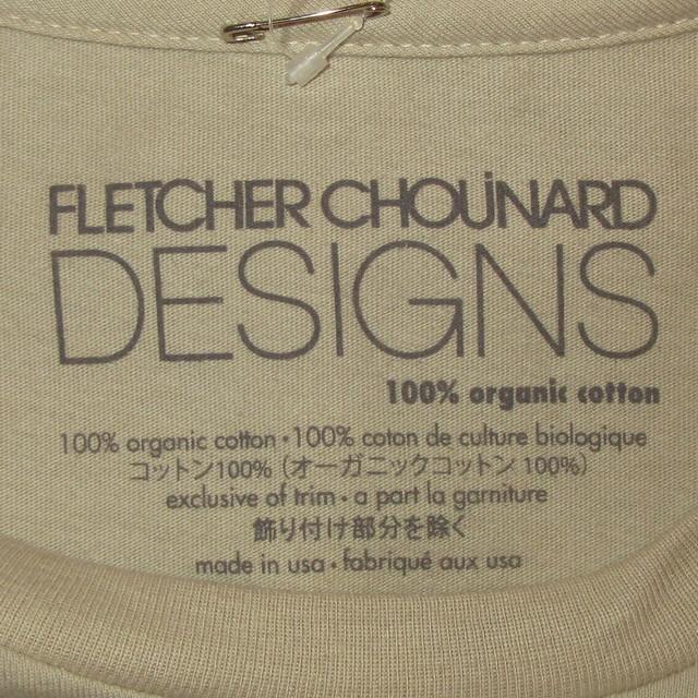 画像4: 新品 00's FLETCHER CHOUINARD DESIGNS フレッチャーシュイナードデザイン HOKUSAI WAVE patagonia パタゴニア Tシャツ BEI / 180509