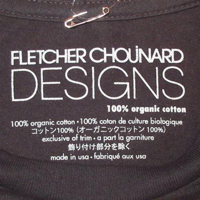 画像4: 新品 00's FLETCHER CHOUINARD DESIGNS フレッチャーシュイナードデザイン HOKUSAI WAVE patagonia パタゴニア Tシャツ BLK / 180509