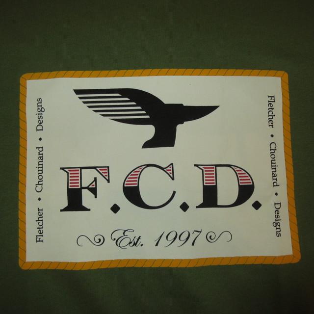 画像3: 新品 00's FLETCHER CHOUINARD DESIGNS フレッチャーシュイナードデザイン patagonia パタゴニア Tシャツ GRN / 180509