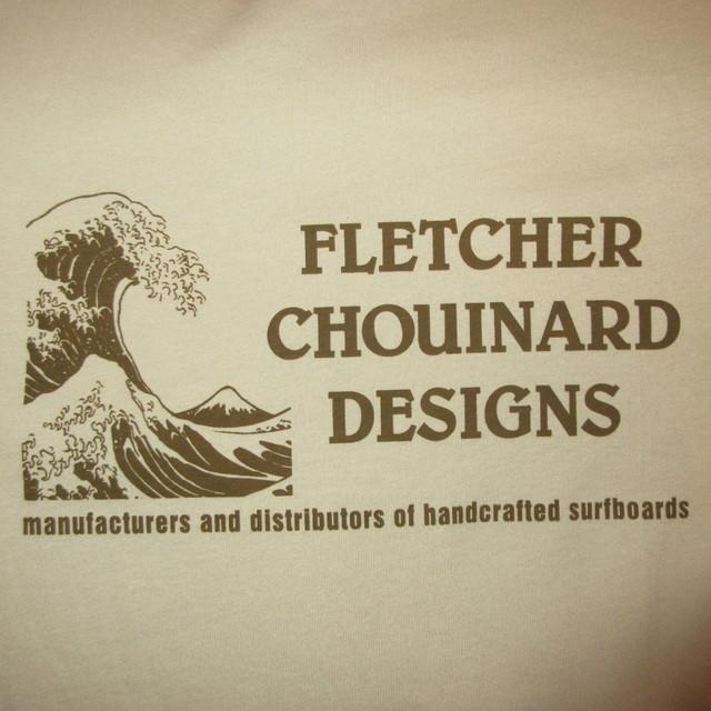 画像3: 新品 00's FLETCHER CHOUINARD DESIGNS フレッチャーシュイナードデザイン HOKUSAI WAVE patagonia パタゴニア Tシャツ BEI / 180509