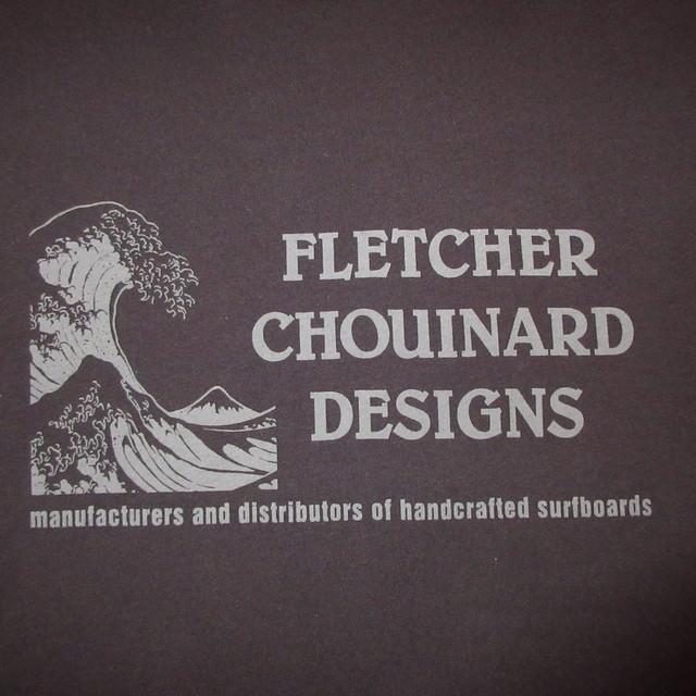 画像3: 新品 00's FLETCHER CHOUINARD DESIGNS フレッチャーシュイナードデザイン HOKUSAI WAVE patagonia パタゴニア Tシャツ BLK / 180509