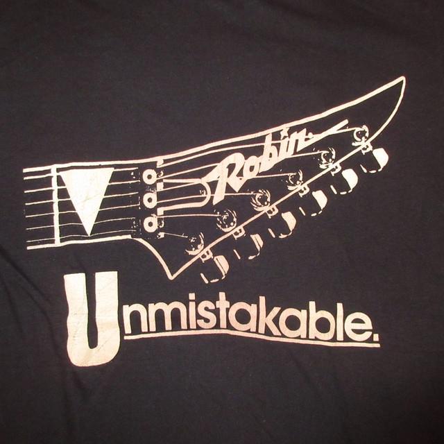 画像3: 古着 80's ROBIN GUITERS unmistakable Tシャツ BLK / 180514
