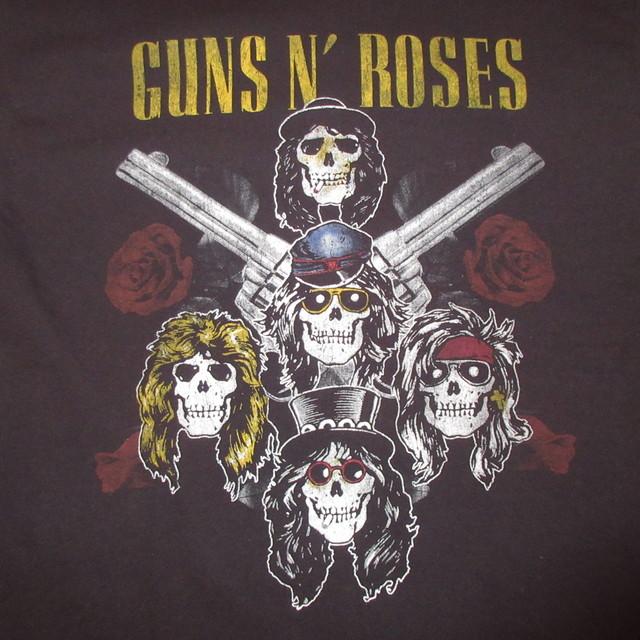 画像3: 古着 00's GUNS&ROSES ガンズ&ローゼス NOT IN THIS LIFE TIME TOUR Tシャツ BLK / 180529
