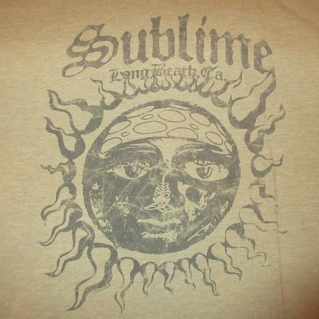 画像3: 古着 00's SUBLIME サブライム Tシャツ KHA / 180529