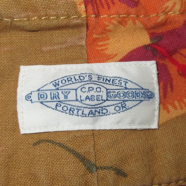 画像5: 古着 00's CPO PROVISIONS ハワイアン アロハ ショートパンツ BRW  / 180531
