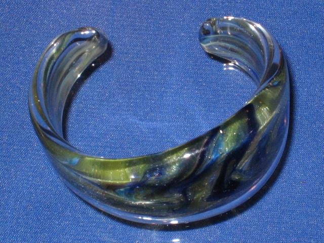 画像1: 新品 グラスアート GLASS ARTS バングル D-1 (1)