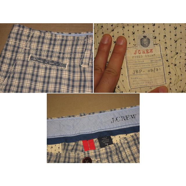 画像3: 古着 J.CREW ジェイクルー チェック ショートパンツ マリンテイスト 00年代