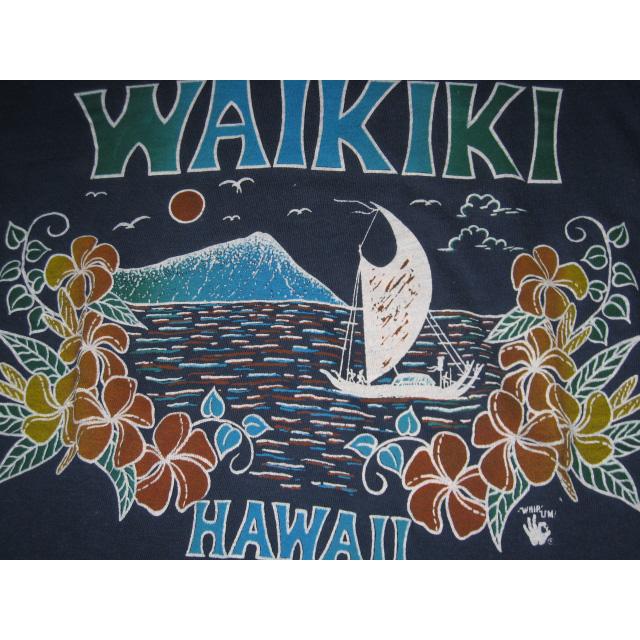 画像3: 古着 HAWAII WAIKIKI ハワイ サーフ Tシャツ 70年代