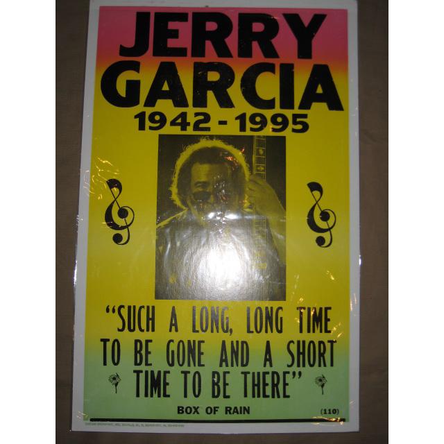 画像1: 新品 JERRY GARCIA ジェリーガルシア GRATEFUL DEAD ポスター 00年代