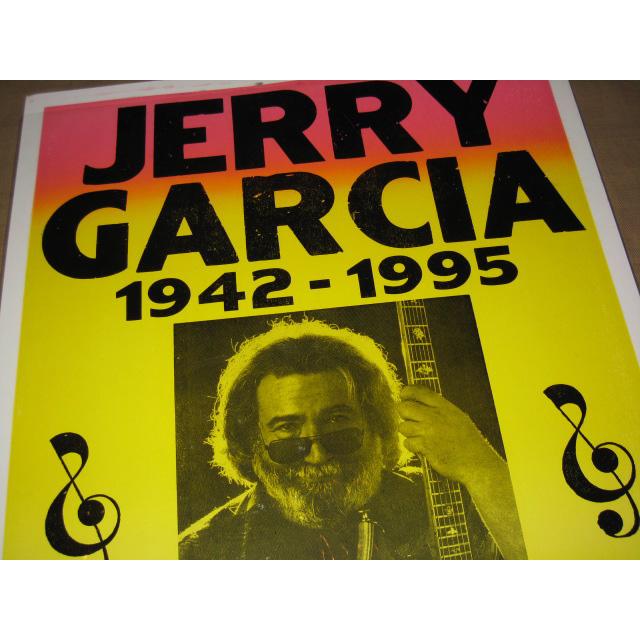 画像2: 新品 JERRY GARCIA ジェリーガルシア GRATEFUL DEAD ポスター 00年代