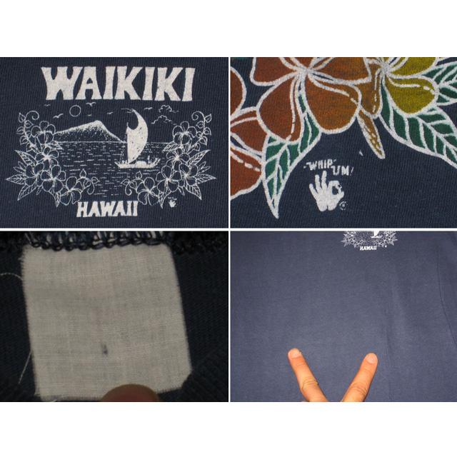 画像4: 古着 HAWAII WAIKIKI ハワイ サーフ Tシャツ 70年代